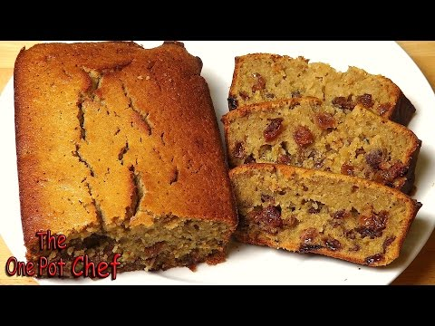 Fruity Tea Loaf | One Pot Chef
