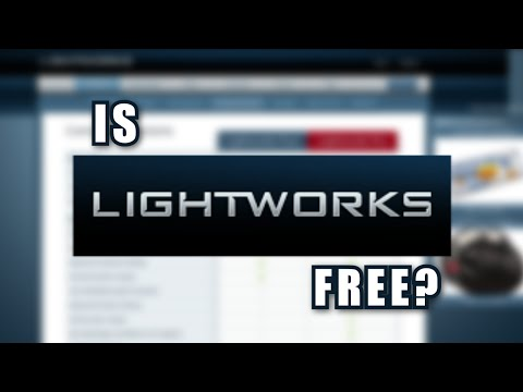 Is Lightworks Actually Free?