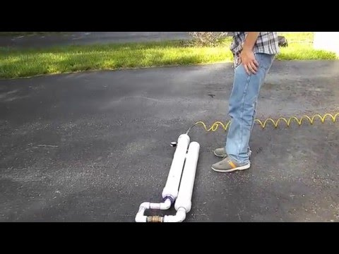 DIY Air Cannon  ~100psi ~320ft