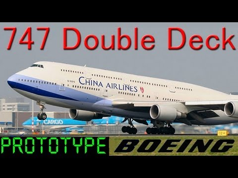 747 Full Double Deck Model HD