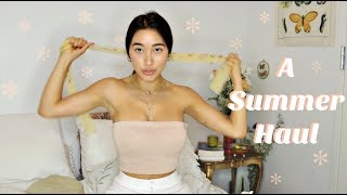 Summer Clothing Haul 2018 | Dreamy  Thrifted Pieces
