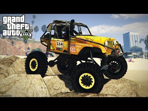 COMPETITION CRAWLER IN GTA 5?! 4x4 Off-Road Crawling & Mudding! (GTA 5 PC Mods)