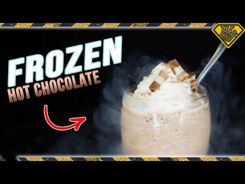 FROZEN Hot Chocolate - 4 Different Ways