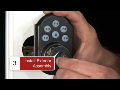 Kwikset 910 SmartCode Deadbolt Install Video