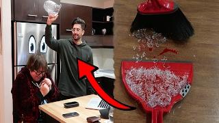 GLASS JAR VS HEAD! *HORRIBLE ENDING*