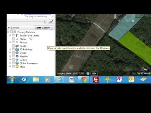 Layers in Google Earth - Adding and Removing