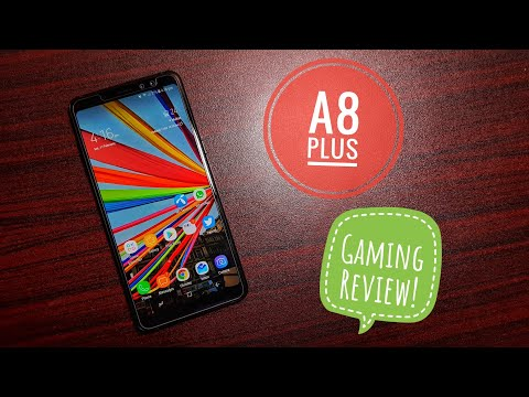 Samsung Galaxy A8 Plus gaming review!