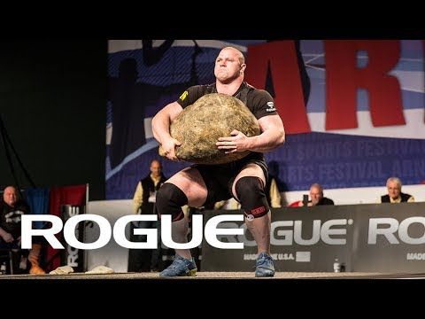 2018 Arnold Strongman Classic | Stone Shoulder Highlights / 8K
