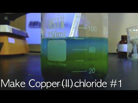 Make Copper II Chloride