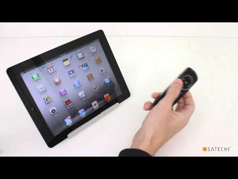 How to use Satechi Bluetooth Smart Pointer with iOS Devices
