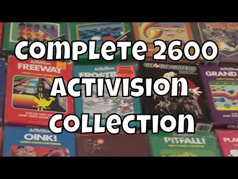 Complete 2600 Activision Collection