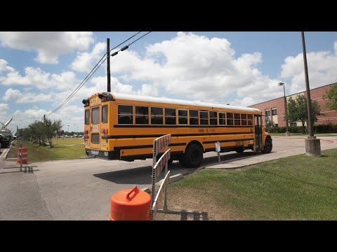 Santa Fe High School students back at school