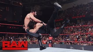 Roman Reigns vs. Seth Rollins: Raw, May 29, 2017