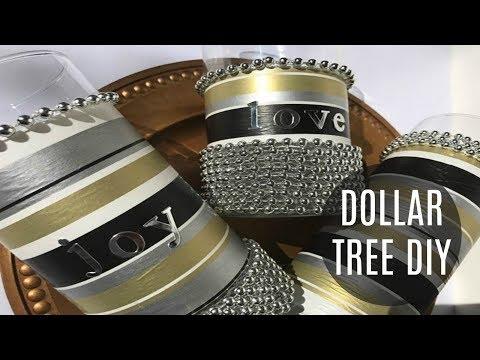 DIY Dollar Tree | HOLIDAY DECOR | CHRISTMAS CRAFT | NEW YEARS | HOME