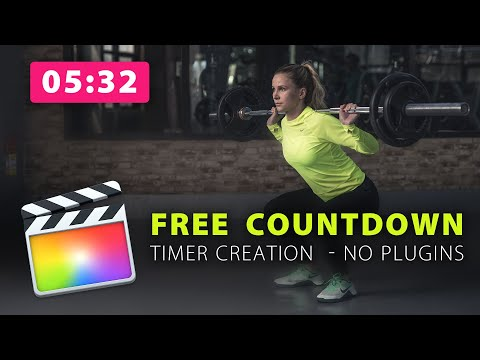 Final Cut Pro X: Create an On-Screen Countdown Timer with Built-in Plugins