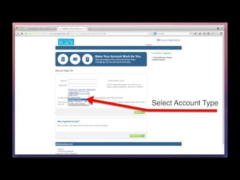 The Children's Place Credit Card Payment Online - MyBillCom.com