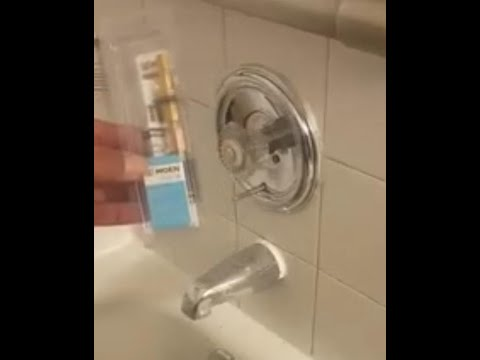 How to replace a moen single handle shower cartridge