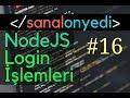Download  #16 Login işlemini MongoDB'ye bağlıyoruz ✓ React & Redux Proje Geliştiriyorum MP3,3GP,MP4