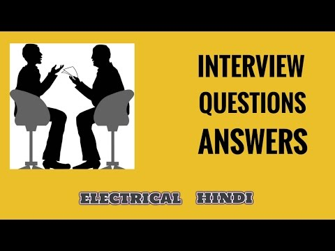 Electrical Interview