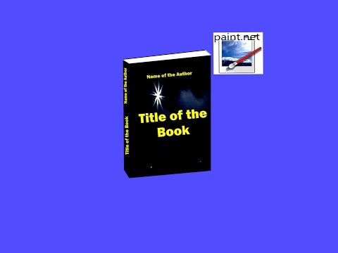 How to Make an exellent 3D Book Cover in  Paint net