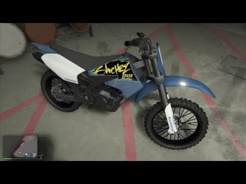 GTA5 online - How to spawn the rare color blue Sanchez bike - Free rare color vehicles