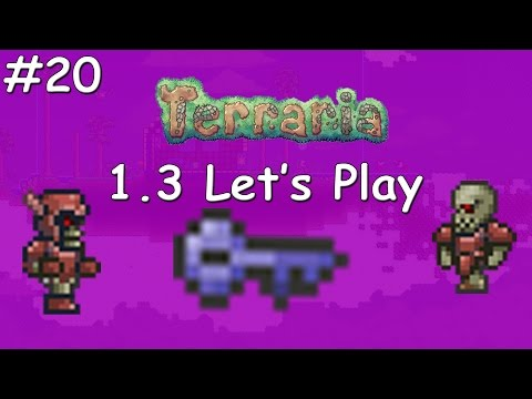Terraria 1.3 #20 - Quest for the Shadow Key