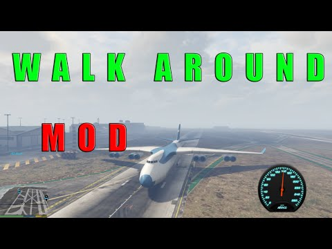 GTA V - Walk Around [Mod Showcase]