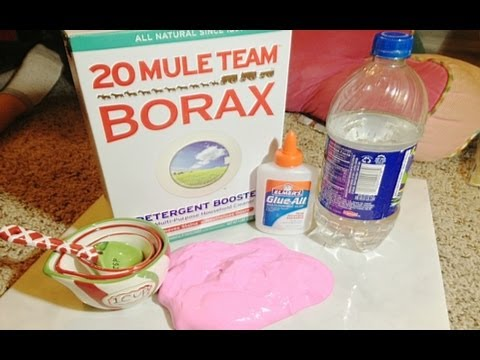 How to make Homemade Flubber/Putty!