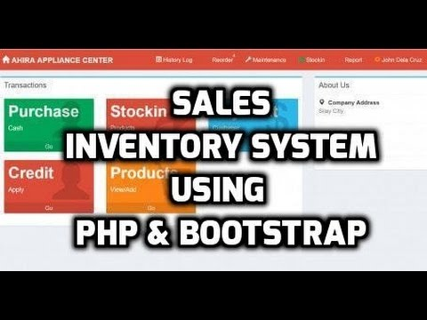 Complete Sales Inventory And Credit Management System Using