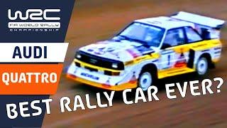 "FIA World Rally Championship: WRC History ""Greatest Cars - Audi Quattro"""