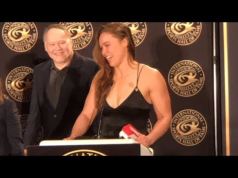 Ronda Rousey Addresses Women's Equality While Receiving 6th Degree Black Belt in Judo