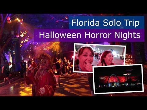 Day 7 | First time at Halloween Horror Nights Universal | Walt Disney World solo trip | Florida 2017