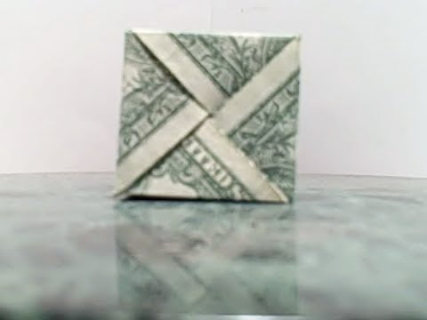 How to make a dollar modular cube