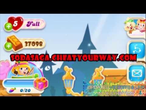 Candy Crush Soda Saga Hack 9,000,000 Free Gold Bars And Lives Cheats [Ios\Android\PC] No Limits