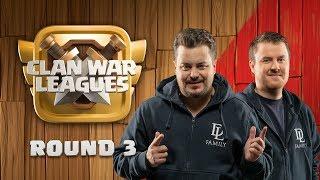 Clash Of Clans Update - Clan War Leagues - 3 Star Attacks - Round 3