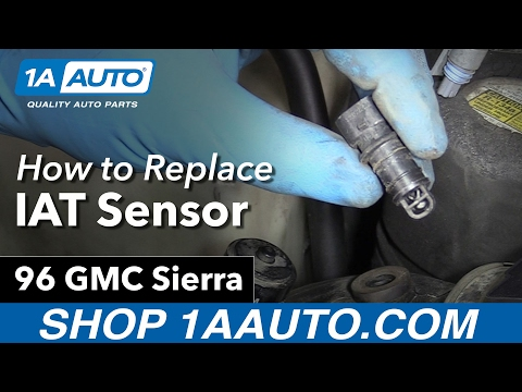 What Your IAT Sensor Does How to Install Replace 1996 GMC K1500 5 7L V8 Sierra