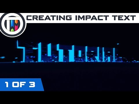 Blender Tutorial - How to create an Impact Intro (1 of 3)