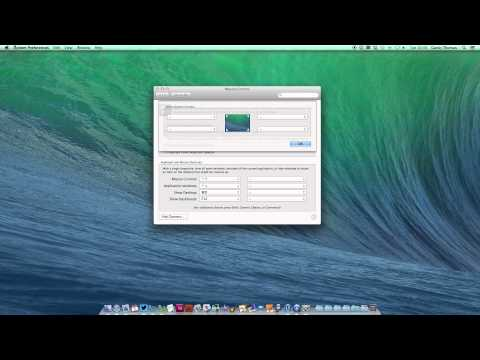 Set up Hot Corners on your Mac in OS X Mavericks