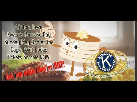 Kiwanis Pancake Day   May 3rd 2015