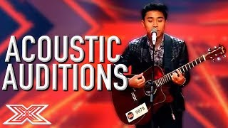 AMAZING ACOUSTIC Auditions Around The World! | X Factor Global