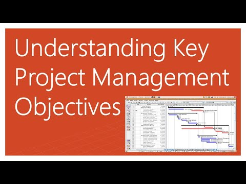 Key Project Management Objectives