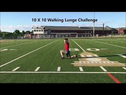Walking Lunge Challenge