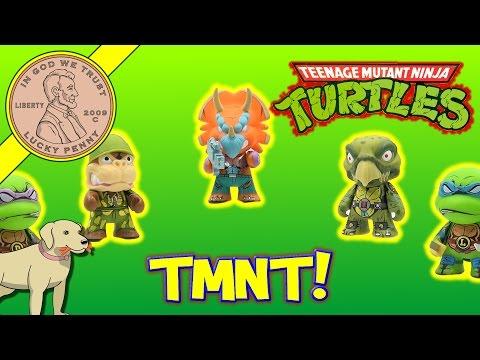 Teenage Mutant Ninja Turtles Shell Shock Vinyl Mini Figures