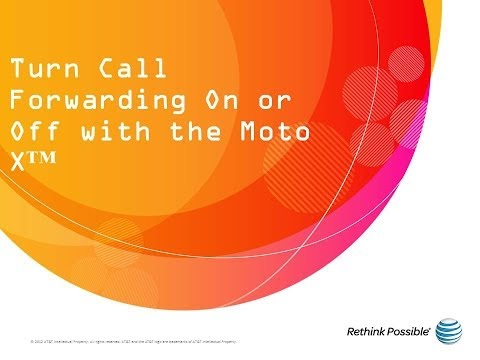 Moto X : Turn Call Forwarding On or Off