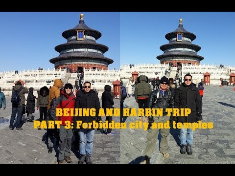 Rizzku China Trip 2018 Part 3 The Forbidden City and Temples