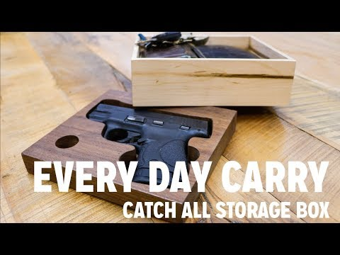 Everyday Carry Woodworking Storage Box Build