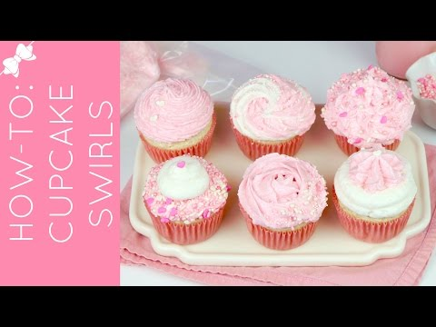 How to Frost a Cupcake: My favorite easy perfect bakery swirls // Lindsay Ann Bakes