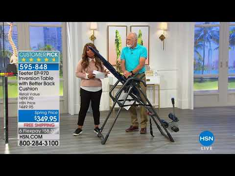 HSN | Teeter Inversion Fitness Solution 03.11.2018 - 07 PM