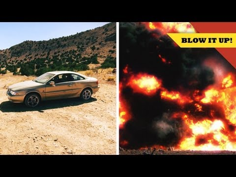 Exploding a CAR with Tory Belleci!