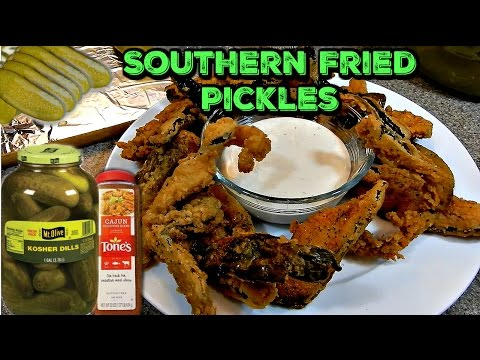 Sonyabeonits...Southern Fried Cajun Pickles Recipe   Simple And Delicious!!